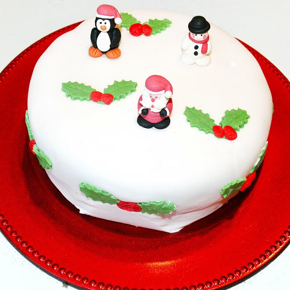 Christmas Jollification Cake-1kg-chri10181