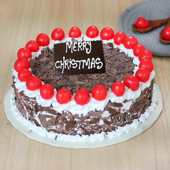 Christmas Blackforest Cake-500gm-chri10182